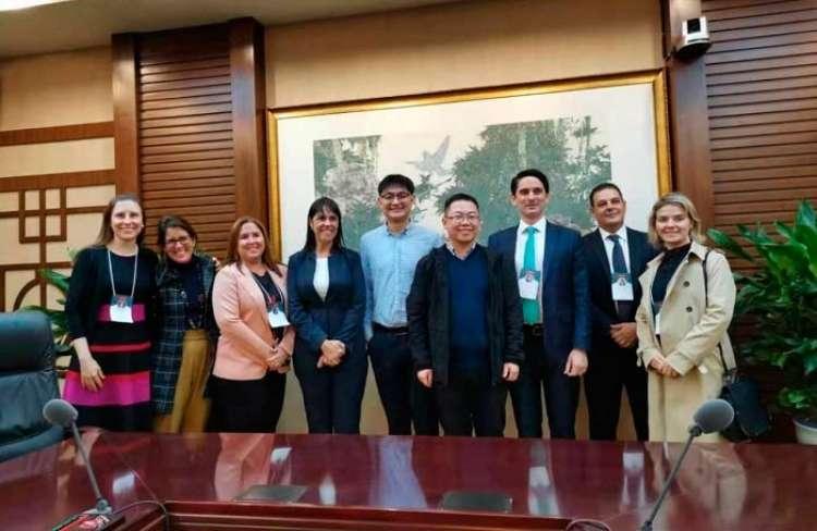 CNA e Irelgov fazem relato sobre missão à China
