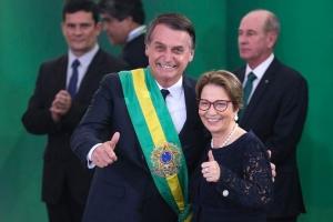 Agricultura familiar terá atenção especial, afirma ministra Tereza Cristina