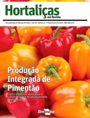 Hortaliças em Revista: nova edição aborda a produção integrada de pimentão