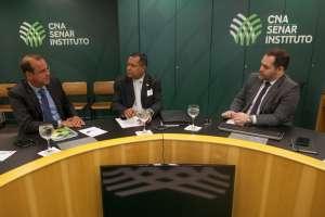 Senar e Embrapa debatem ações de inovação para o agro