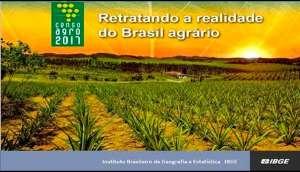 IBGE apresenta dados do Censo Agropecuário 2017