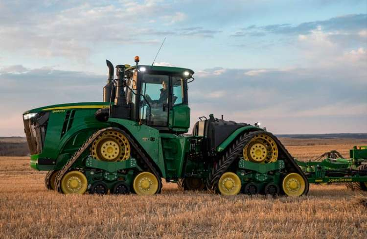 John Deere apresenta nos EUA a produção agrícola 4.0