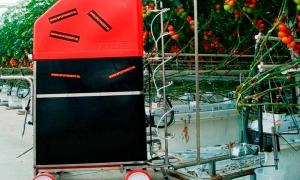 Pulverizador robô S55 e Transportador T1