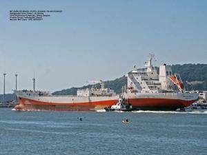 Citrosuco inicia operação de 5º navio, com capacidade de 27 milhões de litros