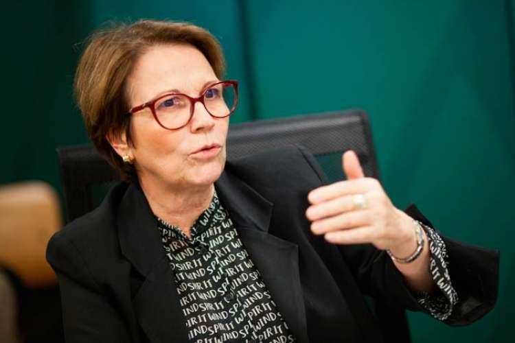 CNA apresenta sistema de rastreabilidade para ministra da Agricultura