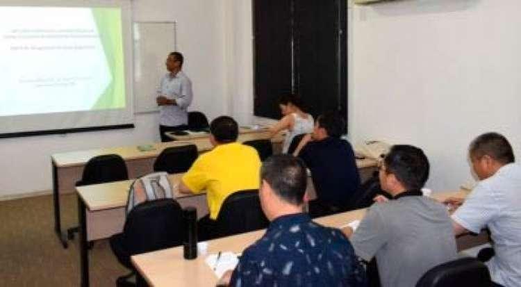 Chineses participam na SNA de curso sobre manejo florestal