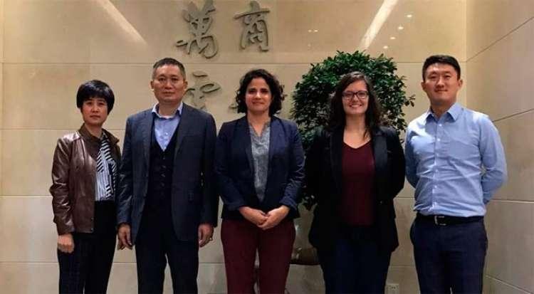 CNA se reúne com importadores chineses em Xangai
