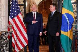 Demos primeiro passo para acordo de livre comércio com EUA, diz Bolsonaro