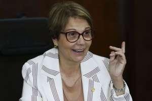 Tereza Cristina rebate acusação de liberação recorde de agrotóxicos
