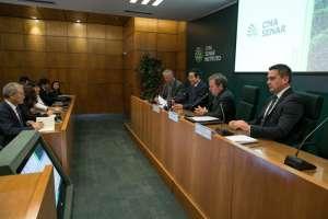 Delegação chinesa veio conhecer potencial agropecuário brasileiro
