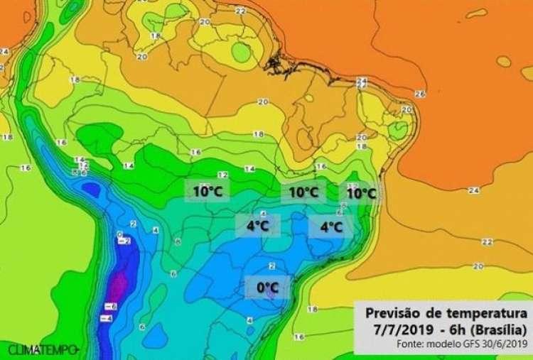 Frio previsto para esta semana deve ser o mais intenso do ano