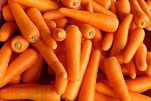 Cima reduz oferta da cenoura em abril