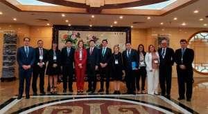 CNA visita Comissão de Reforma e Desenvolvimento da China e Universidade de Pequim