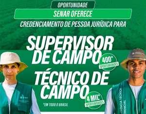 Senar abre credenciamento para supervisores e técnicos de campo de ATeG